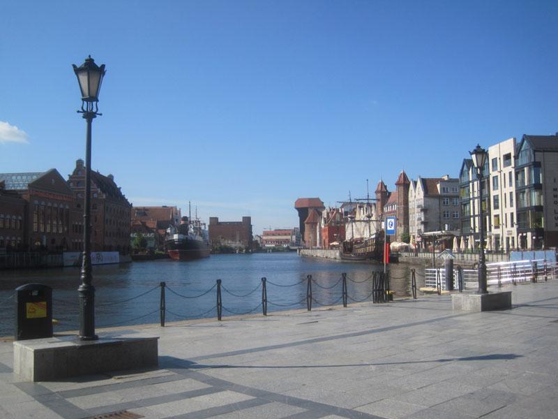 Waterside in Gdansk