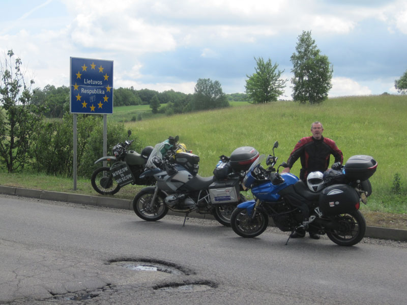 Kodak moment, Lithuanian border