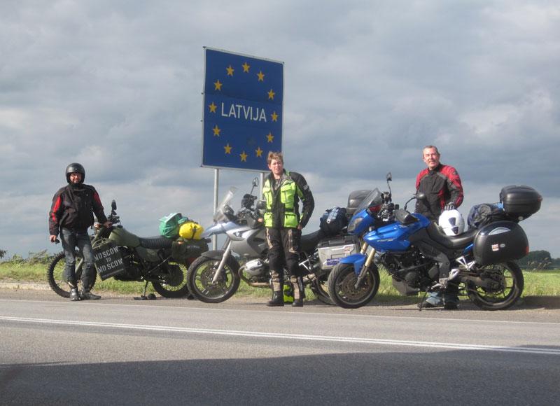 Kodak moment, Latvian border