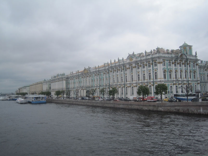 The magnificent Hermitage Palace, St. Petersburg