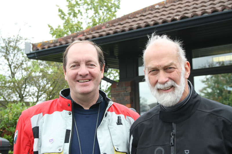 White Knights: Lord Fairfax of Cameron and HRH Prince Michael of Kent